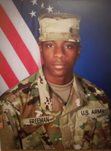 PFC  Anthony Jamari  Freeman