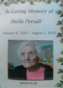Stella  PERSALL