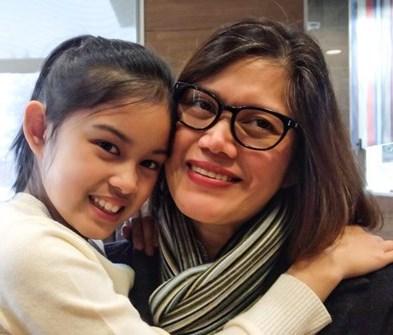 Cynthia and Anika  Caraoa