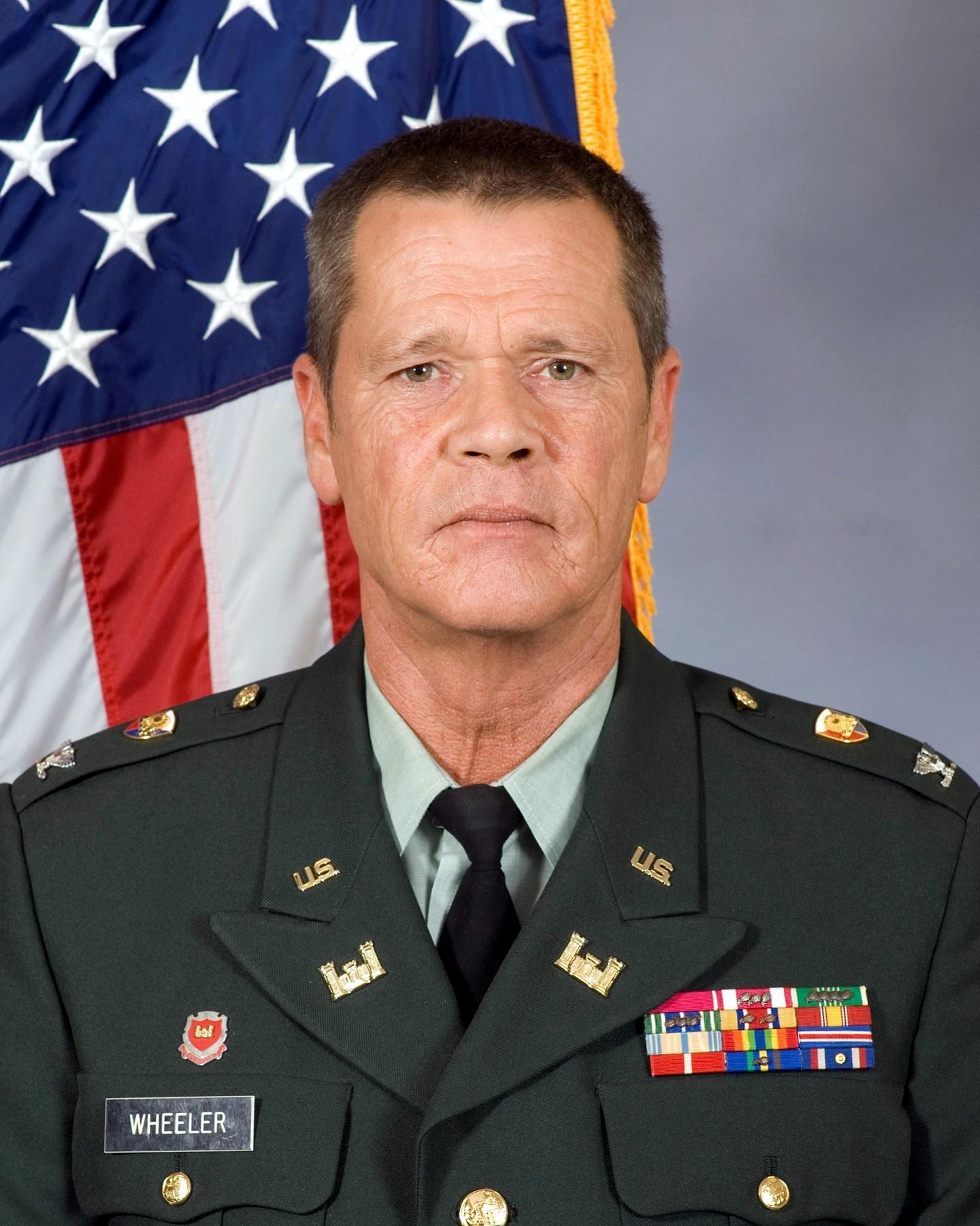 Colonel David Joe  Wheeler